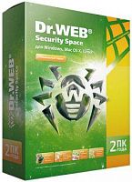 DrWEB Security Space 2пк 2года