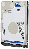 WD 1TB 5400 128MB SATA Notebook Hard Disk Slim