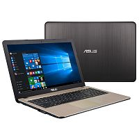 "ASUS X540MA-GQ064 15.6""HD N4000 1.1-2.6GHz,4GB,500GB,CR,WF,USB3.0,DOS,BLACK,RUS"