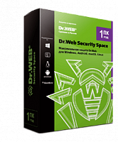 DrWEB Security Space 1 ПК 1 год